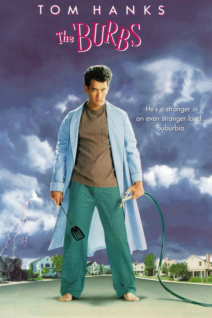 The 'Burbs is probably in my top 5 favorite movies EVER!!! Our family still watches it at least once a year...usually around Memorial Day! Soooooo many fabulous one-liners, too! :)