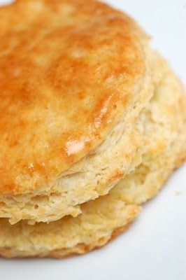 Thomas Keller's Ad Hoc's Buttermilk Biscuits~if you don't have buttermilk, substitute 1/2 cup milk and add 1/2 Tbsp lemon.
