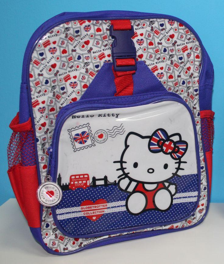 Mochila de Hello Kitty - 33x23x10cm