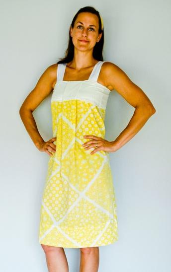 Adult Pillowcase Dress - Layer a shirt underneath- Cute!