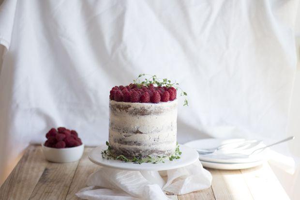 Bolo de Framboesa e Tomilho   Raspberry Thyme Cake
