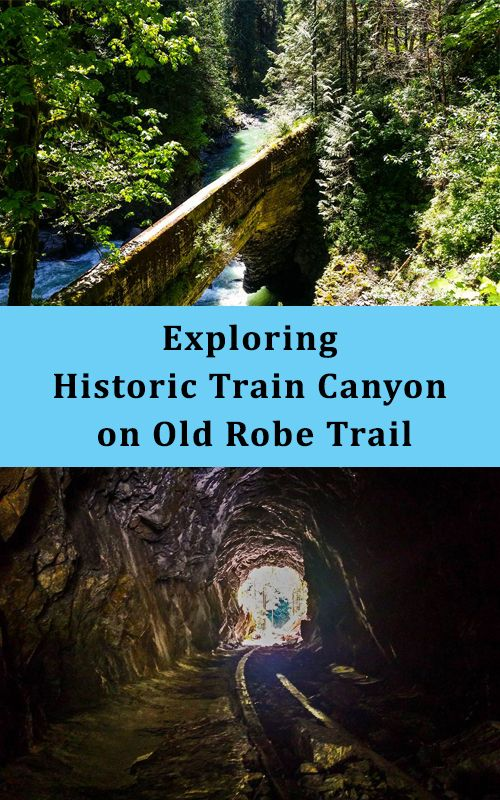 Explore Old Robe Trail and learn the history in Washington State. Wonderful Hike! #hiking #pnw