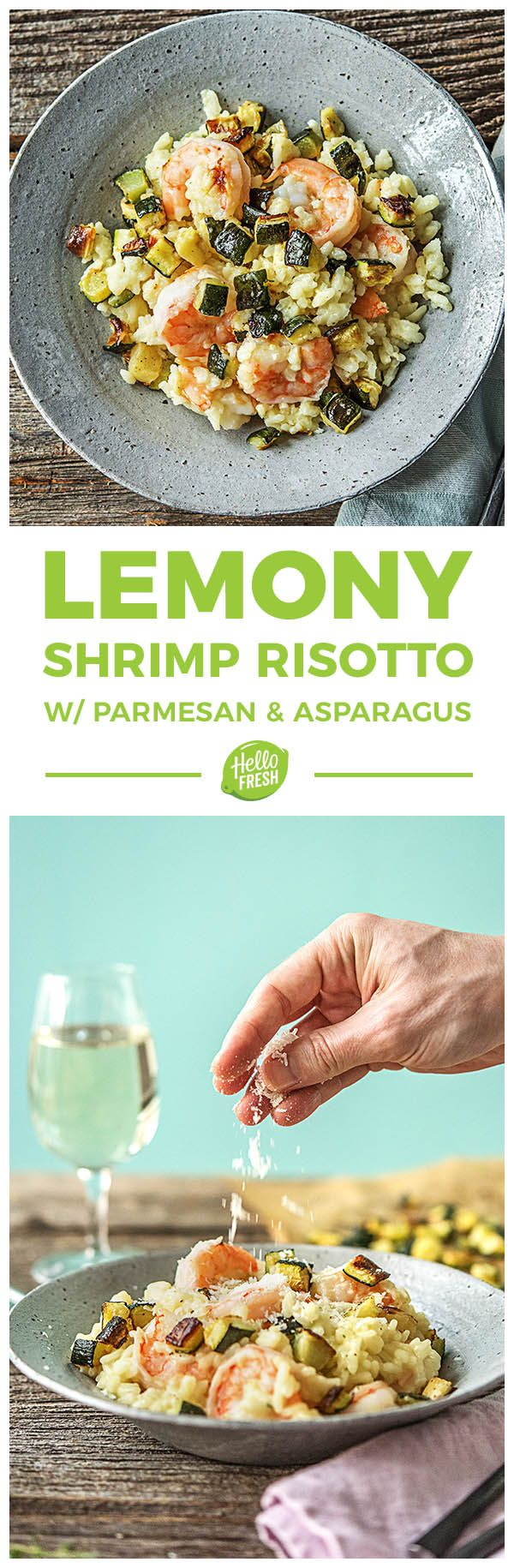 Super simple lemony shrimp risotto recipe | More fancy and wholesome  recipes on hellofresh.com