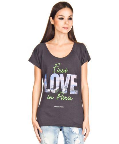 Camisetas Only Killer París Love Pizarra en Nice & Crazy