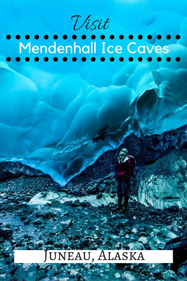 Visit the Mendenhall Ice Caves near Juneau, Alaska before they're gone.