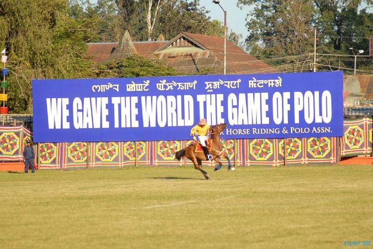 6th International Polo Tournament Manipur 2012