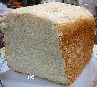Receta: Pan de miga con manteca y leche utilizando  horno para pan