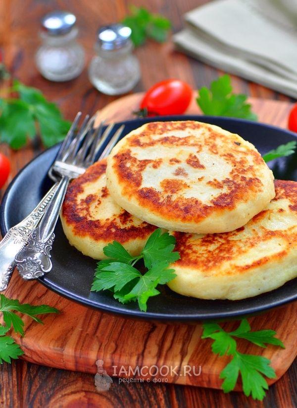 Жемайчю блинай или картофельные зразы по-литовски