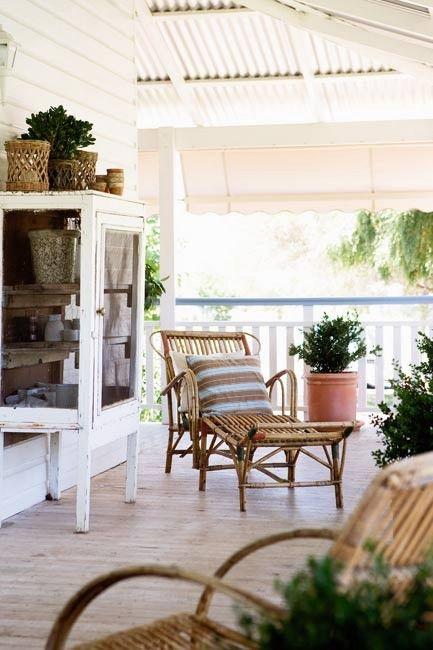 pinned via beachcottage lovely country style verandah