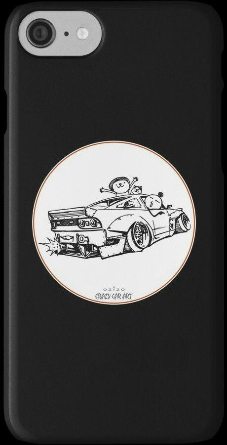 Crazy Car Art 0007 / i-phone case