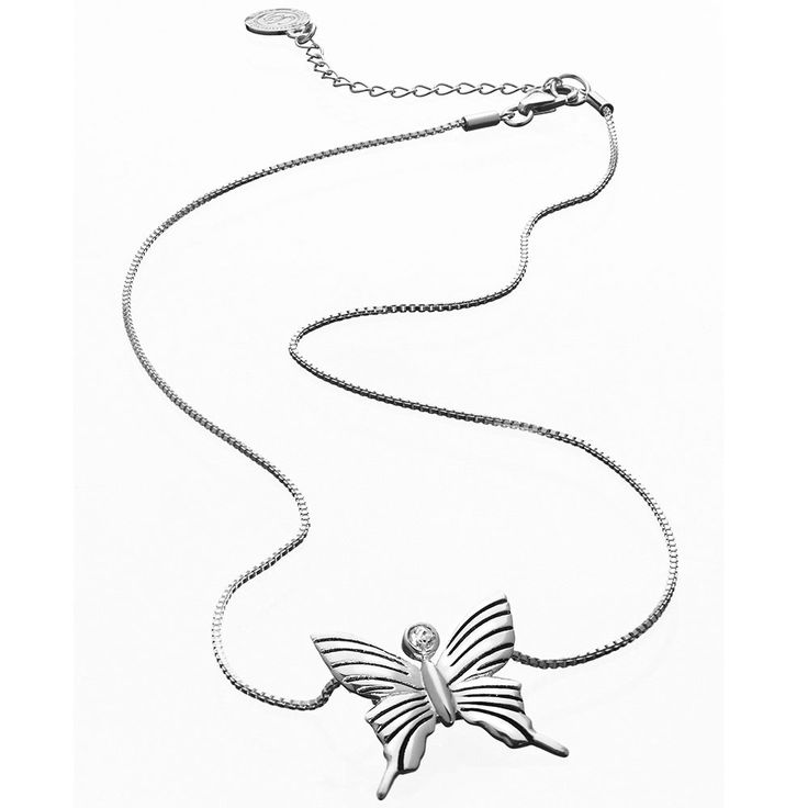 Butterfly Halsband Mother, M, Sterling Silver, Carolina Gynning