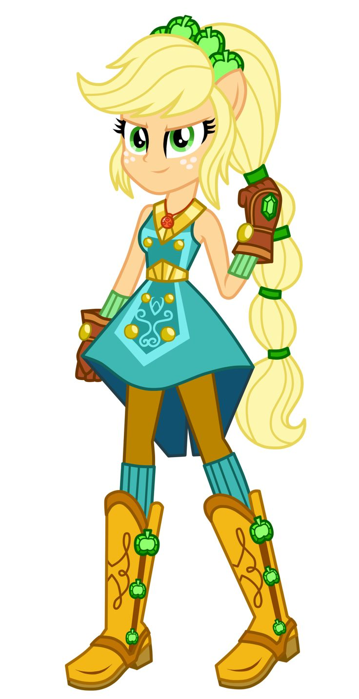 Legend of everfree applejack by mixiepie my little pony pinterest mlp pony and - My little pony en humain ...