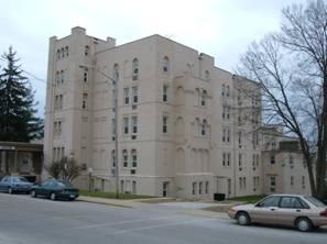 New Highland Sanitarium (rebuilt after a fire in 1929), North Main Street