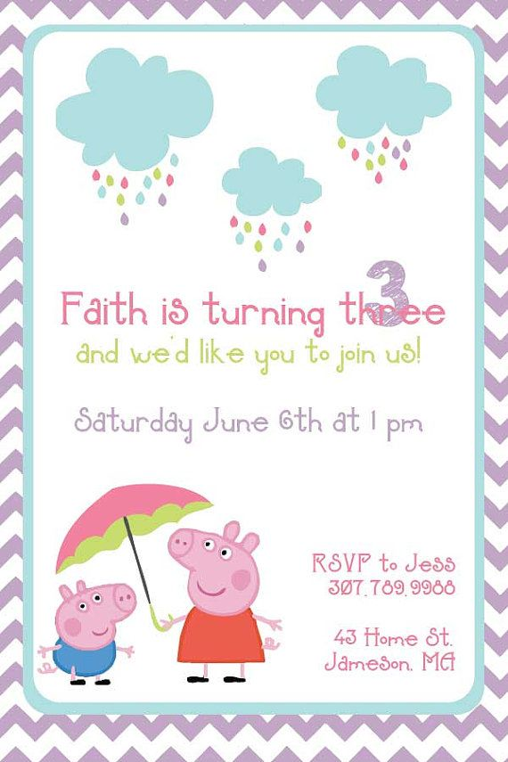 18 best Peppa Pig Party Ideas images on Pinterest   Pig party, Peppa ...