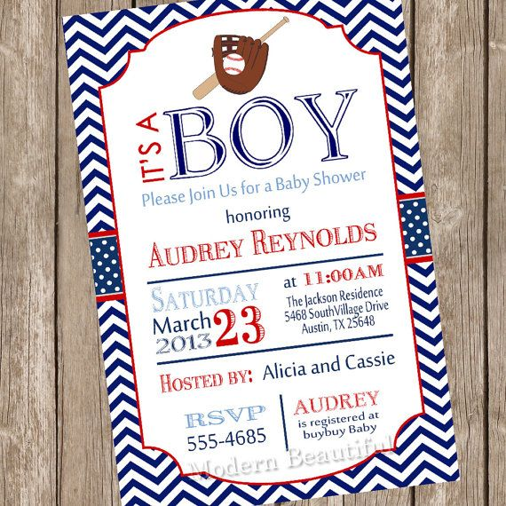 Hey, I found this really awesome Etsy listing at http://www.etsy.com/listing/124390881/chevron-baseball-baby-shower-invitation