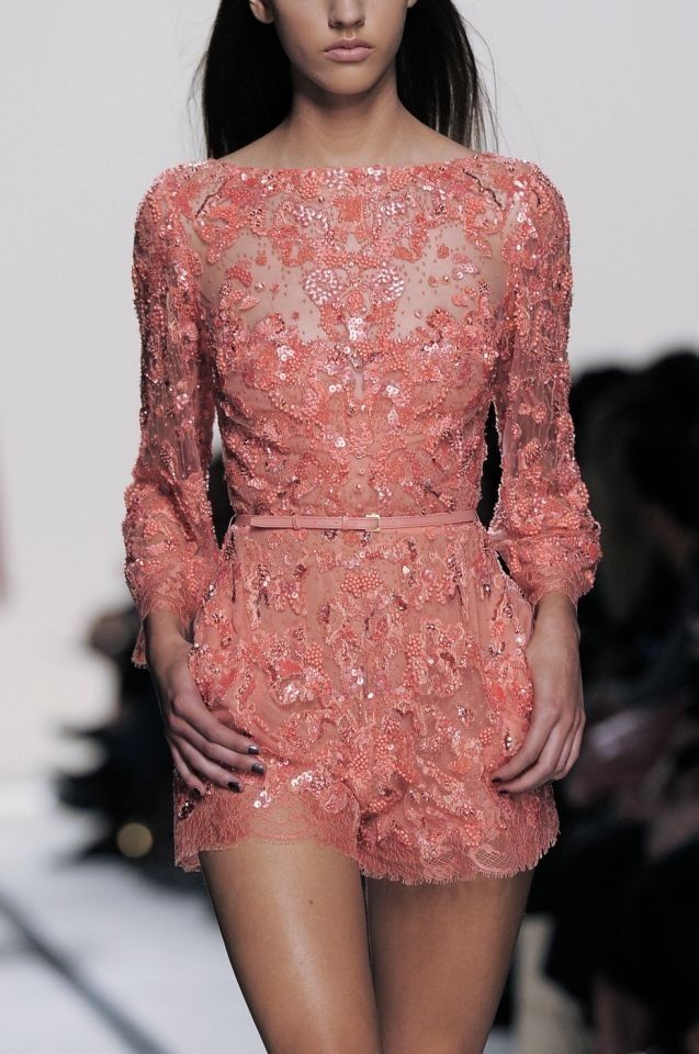 If I had all the money in the world I would head straight to Ellie Saab!! <3