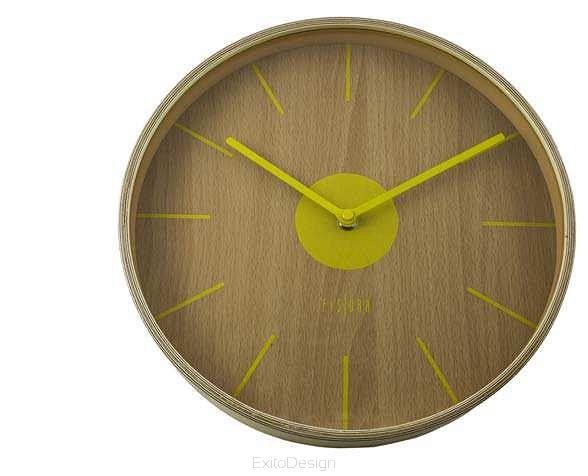 Zegar ścienny Yellow by Fisura