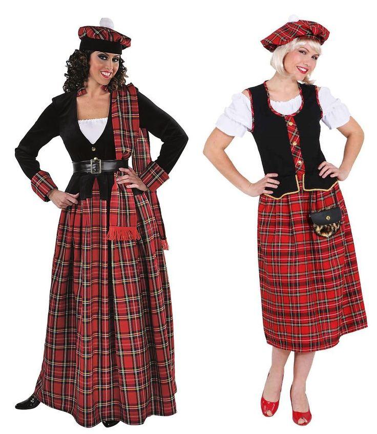 Schotte Schottin Scottish Girl Lady Rock Sexy Dudelsack -7836