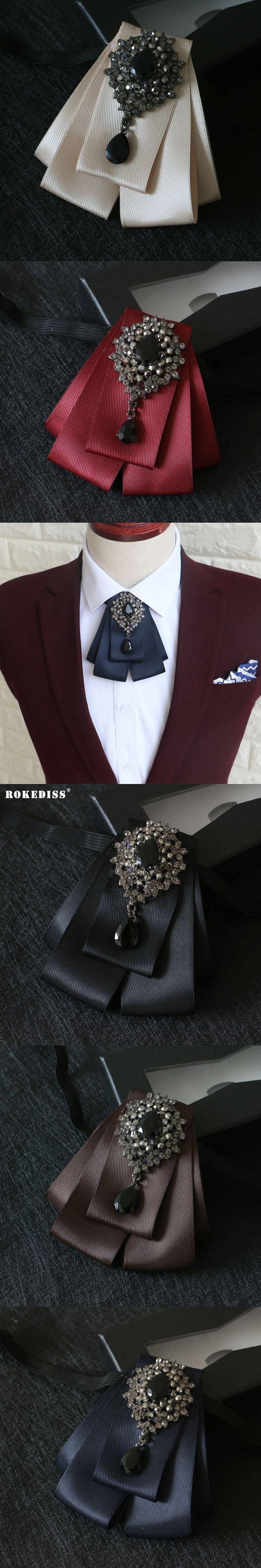 ROKEDISS 2017 New male wedding bow tie groom wedding dress Korean version female bow black British men's bow tie Z307