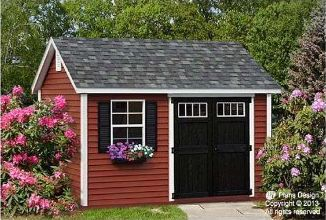 Shed Plans - 10×12 Gambrel Shed Plans - Now You Can Build ANY Shed In A Weekend Even If You've Zero Woodworking Experience!