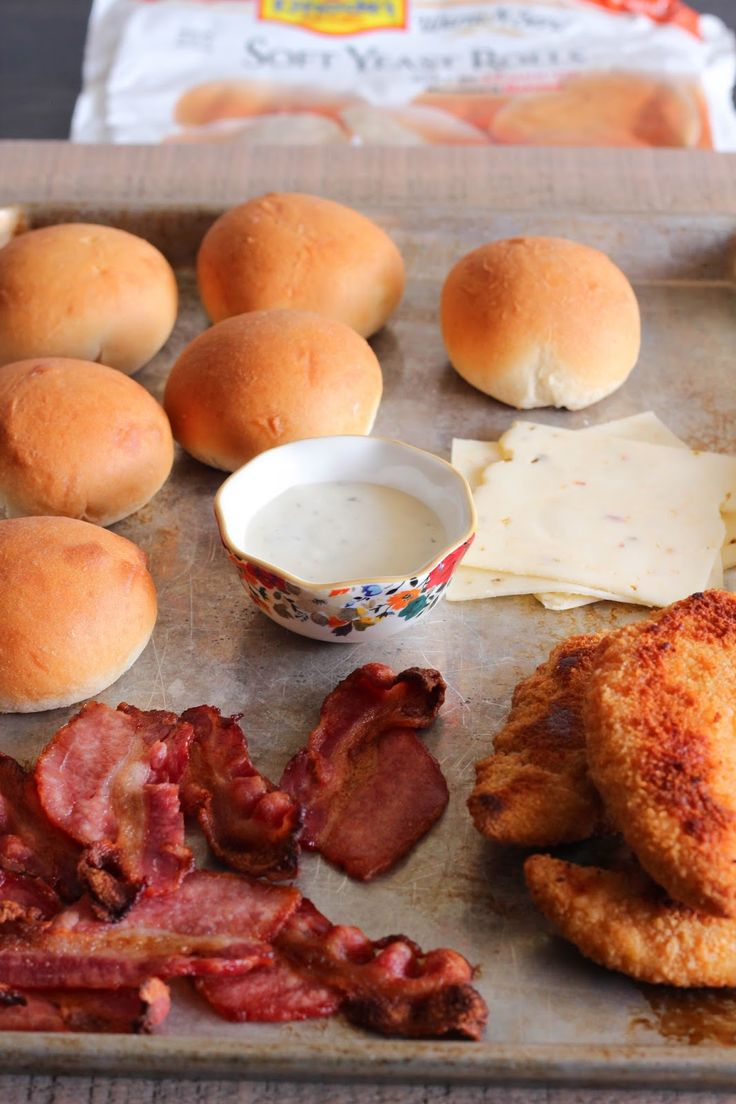 chicken and bacon burgers