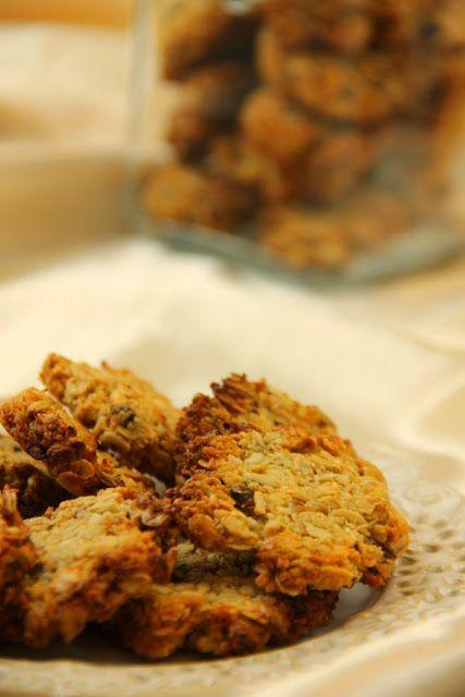 Kuchnia w wersji light: Ciasteczka musli z kokosem. Bez mąki, mleka i glutenu