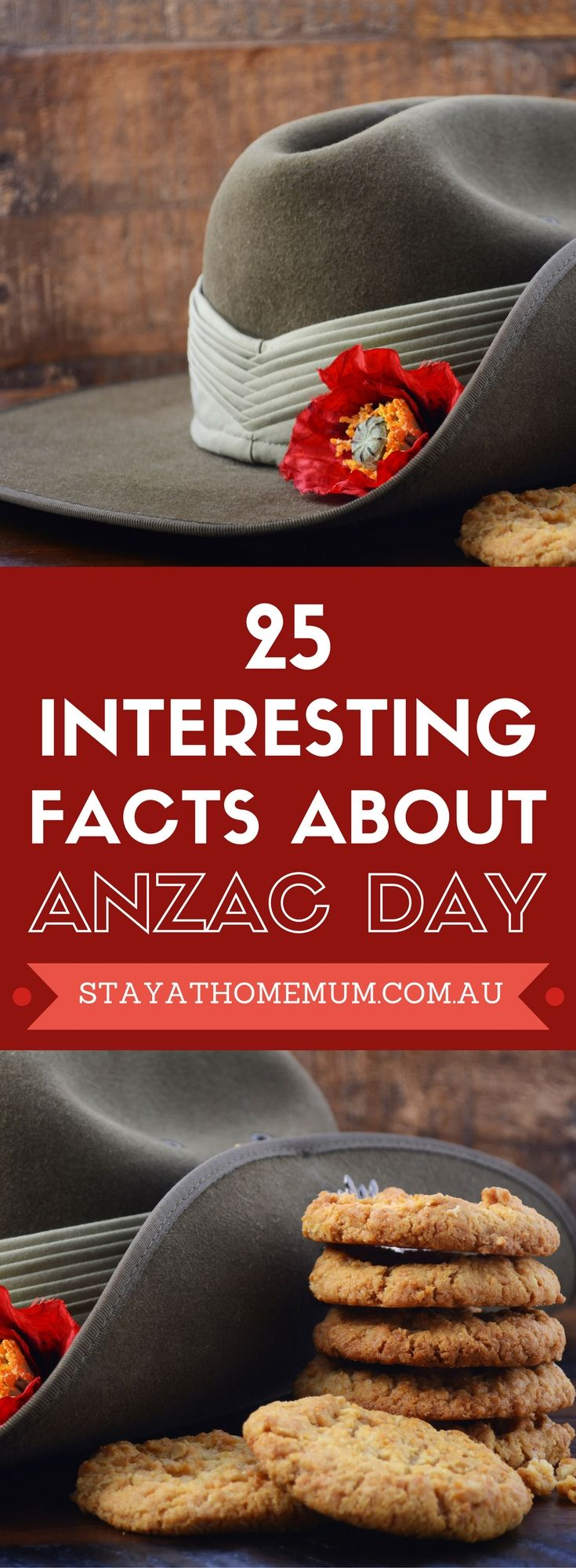 Why not showoff your ANZAC day knowledge (or learn a few things you didn't know) with these 25 interesting ANZAC day facts?