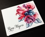 Personalized Stationery, Personalized Note Cards, Custome Stationery, – SoireeCustomPaperCo