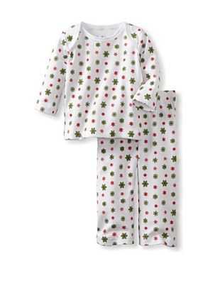 86% OFF Margery Ellen Baby Holiday Tee Set (Snowflake Neutral)