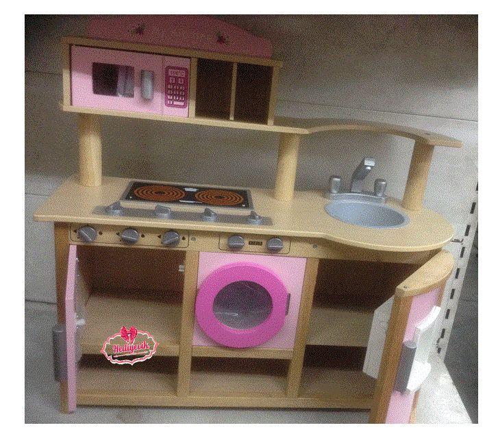 Büyük Boy Mentari Eğitici Ahşap Fırın Mutfak Tezgahı MT-3458