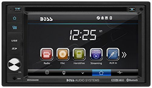 Car Stereo | BOSS Audio BV9362BI Double Din, 6.2 Inch Digital LCD Monitor, Touchscreen, DVD/CD/MP3/USB/SD AM/FM, Bluetooth, Wireless Remote #Stereo #BOSS #Audio #BVBI #Double #Din, #Inch #Digital #Monitor, #Touchscreen, #DVD/CD/MP/USB/SD #AM/FM, #Bluetooth, #Wireless #Remote