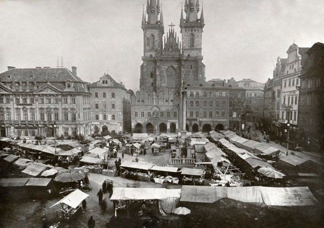 Old Town Square 1900