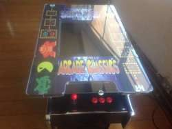 How Cool!!  Retro Arcade Machine - over 400 games - 1 or 2 players - Coin Operated.