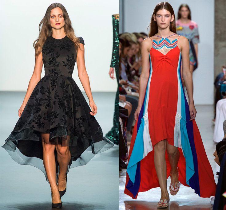 Платье-маллет («mullet»). Это разноуровневая каскадная модель, в которой спереди платье короткое, а сзади – длинное. Платье-маллет популярно уже несколько сезонов подряд. И весной-летом 2017 оно остаётся также актуальным, как и ранее...Модель может...