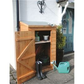 """Buy 2' 10"""" x 3' 7"""" Mini Store (0.64m x 0.94m) from our Outdoor Storage range - Tesco"""