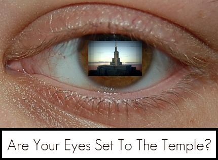 Are Your Eyes Set To The Temple?