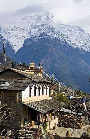 Ghandruk, 1990 metres, Annapurna Himal, Nepal, Himalayas, Asia