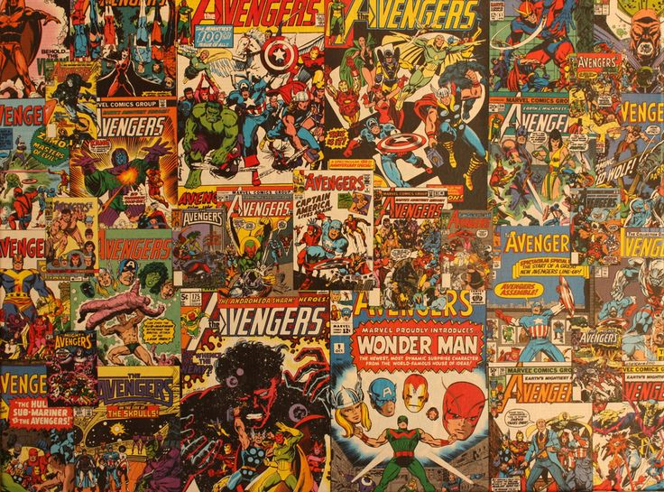 comic book collage art will spruce up your pad collage