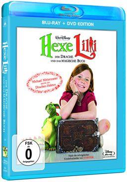 Hexe Lilli - die kleine Hexe, bekannt aus zahlreichen, beliebten Kinderbüchern (Autor: Knister), kommt mit dieser Blu-ray + DVD Edition auf unsere Bil....
