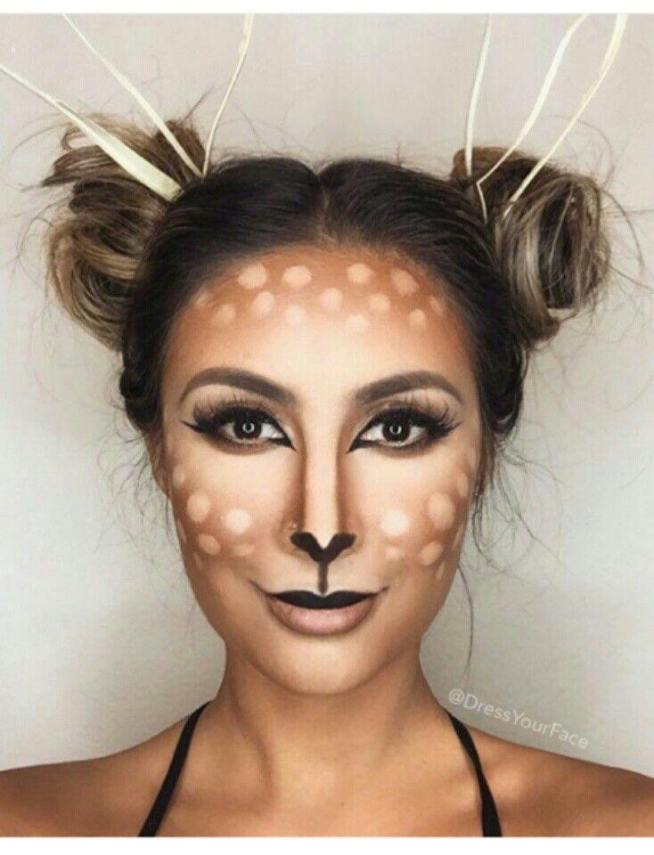 deer halloween makeup - photo #11