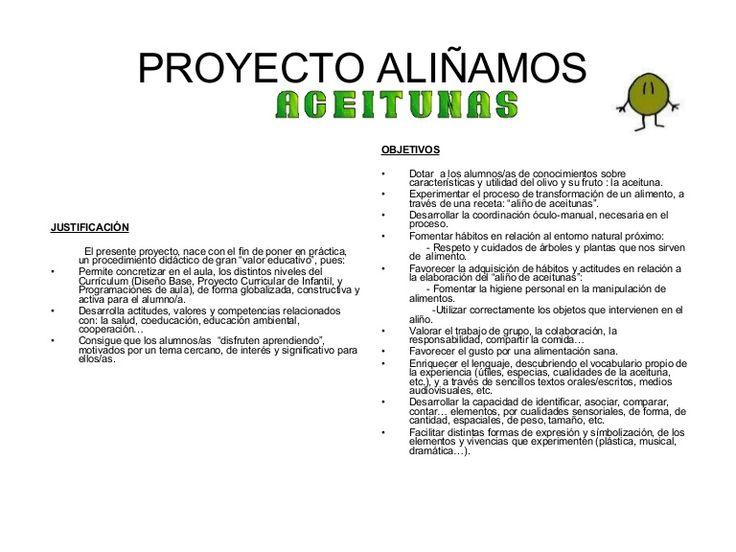 Proyecto AliñAmos Aceitunas