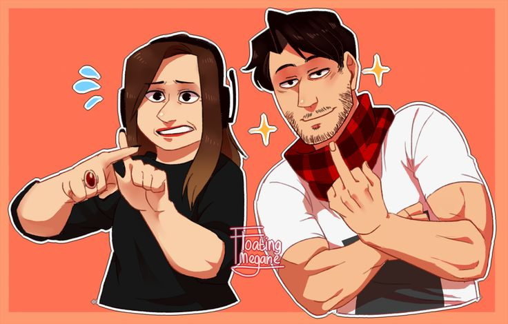 """~ Like Mother Like son ~ well.. not really. XD @markiplier and for some reason, i feel like this is like a """"draw your squad"""" meme… even though its not (it could be though lol)"""