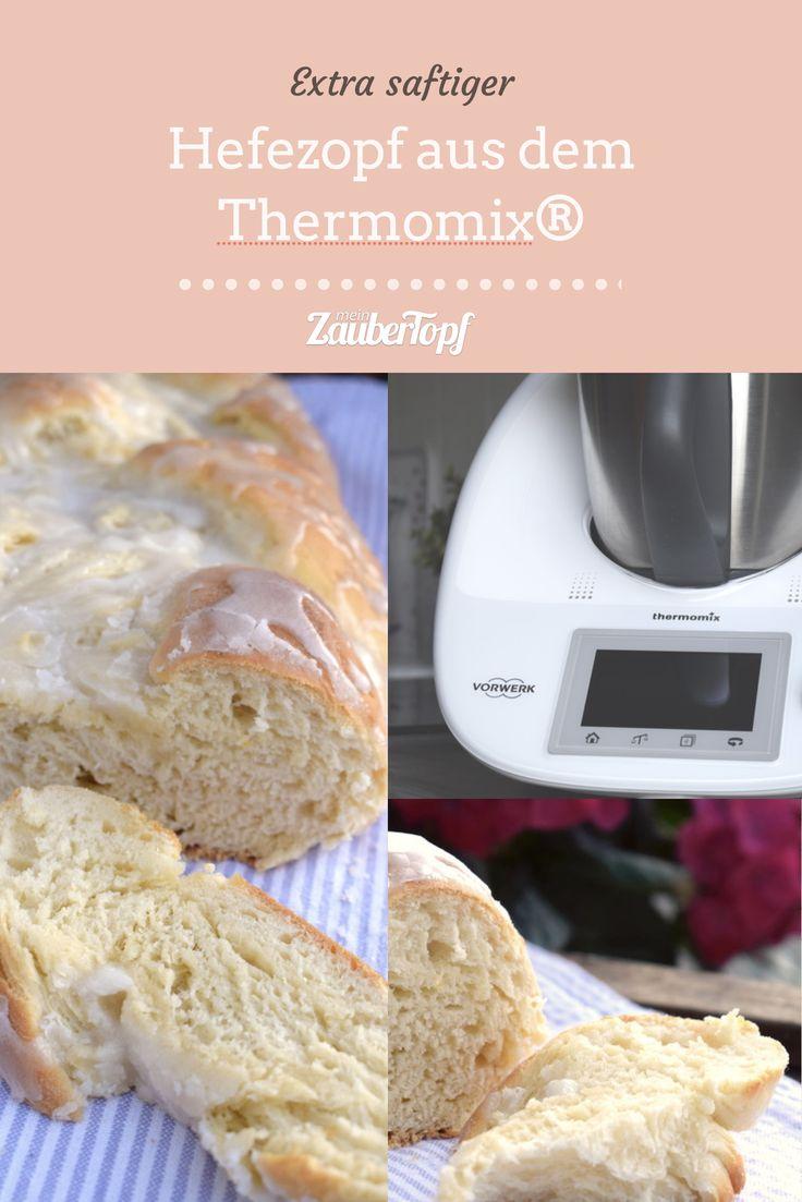 Hefezopf aus dem Thermomix® – Foto: Nicole Stroschein