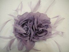 Double #Silk Rose - Lilac