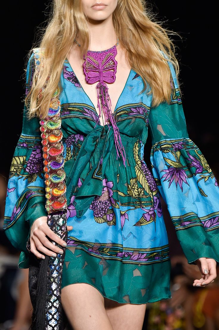Anna+Sui+at+New+York+Spring+2015+(Details)