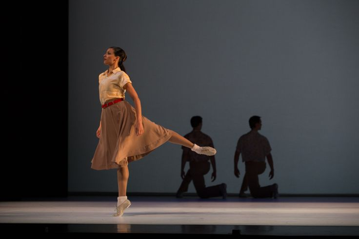 Yanela Pinera in Paul Taylor's Company B performed by Queensland Ballet