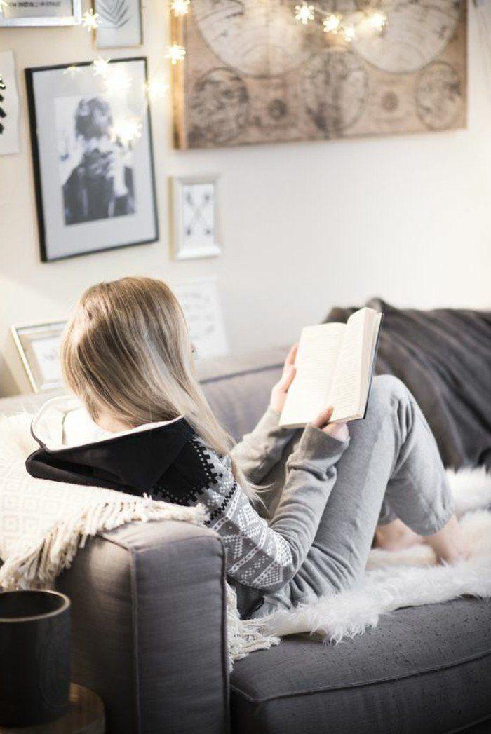 1000 id es propos de canap s gris sur pinterest d cor salon d cor de canap gris et. Black Bedroom Furniture Sets. Home Design Ideas
