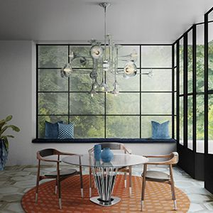 Find the best bohemian style inspiration for your next interior design project here. For more mid-century lighting visit http://essentialhome.eu/