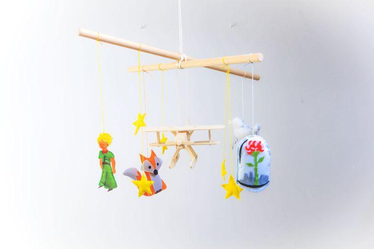 DIY : Un mobile Le Petit Prince en feutrine
