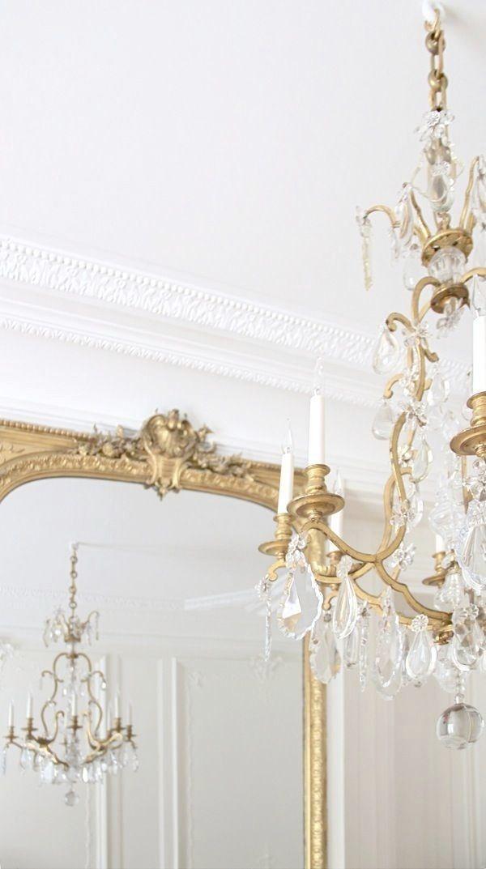 Beautiful french mirrors, will make any room.    ZsaZsa Bellagio – Like No Other: Pretty Stuff